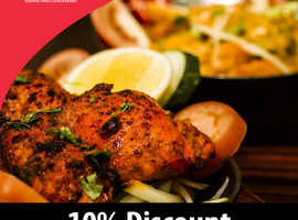 10% Discount On Takeaway Orders Over £20 |  Dhaka Spice
