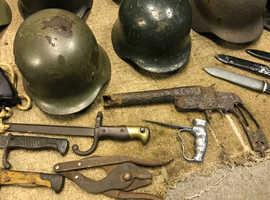 MUST LOOK - WW1/WW2 Bayonets, Helmets, Field Gear and More