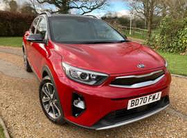 Kia STONIC, 4 2020 (70) Blaze Red Hatchback, Semi auto Petrol,  390 miles only