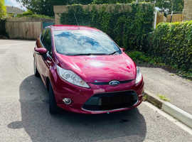 Ford Fiesta, 2012 (62) Red Hatchback, Manual Petrol, 62,379 miles