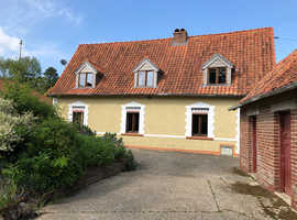 Rural Northern France, NO NEED TO FLY.  300 year old cottage with Games Barn, 1 hr from Calais