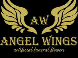 Artificial funeral flowers to hire or buy