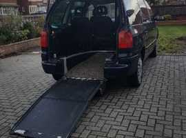 Disabled 5 SEATER MPV +WHEELCHAIR RAMP. LOW MILEAGE.