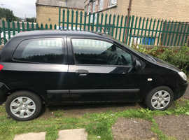 Hyundai Getz, 2006 (56) Black Hatchback, Manual Petrol, 118,000 miles