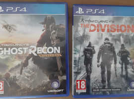 Ghost recon wild lands and Tom Clancy the division