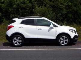 Vauxhall Mokka, 2016 (65) White Hatchback, Manual Diesel, 43,000 miles, 01443 831670