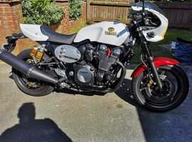 YAMAHA XJR1300 CAFE RACER,RARE 60th ANNIVERSARY EDITION 2016 GENUINE 1362 MILES