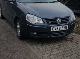 Volkswagen Polo, 2008 (58) grey hatchback, Automatic Petrol, 72,630 miles