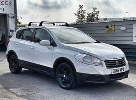 2016/66 Suzuki SX4 S-Cross 1.6 SZ3 finished in Gloss White.   23707 miles