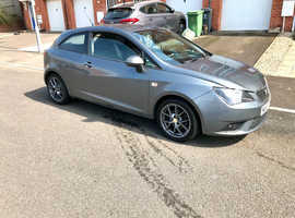 Seat Ibiza 6J S AC 2012 (62) Grey Hatchback, Manual Petrol, 65,913 miles