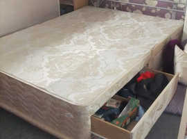 FREE ....  Double Bed Base and Headboard