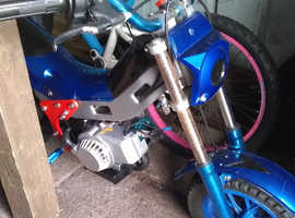 56cc trails bike, vvgc, this frame engine and box are A1