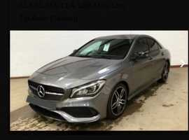 Mercedes CLA, 2016 (16) Grey Saloon, Manual Petrol, 48,536 miles