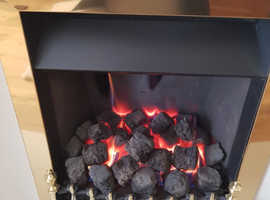Fire place and gas fire