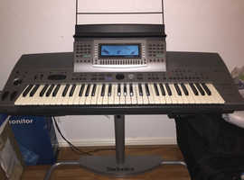 Technics KN6000 61 Full Size Keyboard,  Stand , Stool and Carry Case  (Excellent Condition)