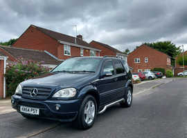 Mercedes M-CLASS, 2004 (54) AMG bodykit, Automatic Diesel, 114000 miles