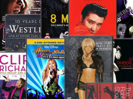 Choose from a range of Music DVDs   3 for £2