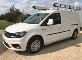 2016 Volkswagen Caddy Maxi C20 Highline Diesel Van A/C Bluetooth Roof Rack FSH Ply-Lined Parking Sensors Just Been Serviced Cruise