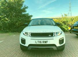 Land Rover Range Rover Evoque, 2016 (16) White Estate, Automatic Diesel, 14,000 miles