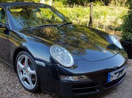 Porsche 911, 2005 (55) Grey Convertible, Manual Petrol, 54,500 miles