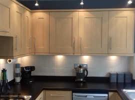 Kitchen doors oak veneer shaker style