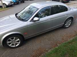 Jaguar S-TYPE, 2005 (55) Silver Saloon, Automatic Petrol, 73,000 miles