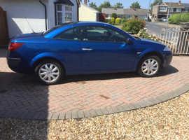 Renault Megane, 2006 (06) Blue Convertible, Manual Petrol, 60,000 miles