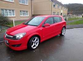 Vauxhall Astra, 2007 (07) red Hatchback, Manual Petrol, 100000 miles
