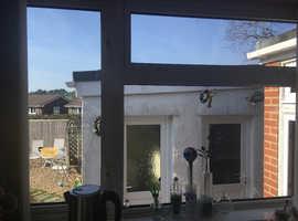 3 double glazed PVC windows