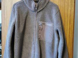Mens NEW LOOK heavy fleece jacket M