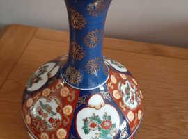 Vintage gold imari vase