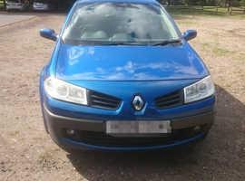 Renault Megane, 2006 (06) Blue Hatchback, Manual Petrol, 104,500 miles