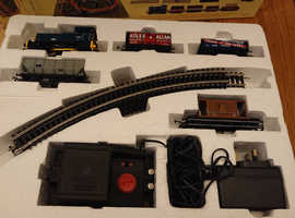 Collection of model trains oo gauge