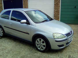 Vauxhall Corsa, 2004 (54) Silver Hatchback, Manual Petrol, 82,000 miles