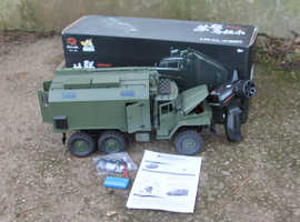 WPL Ural 6x6 truck plus WPL trailer/spare body kit - partially completed upgrade project!