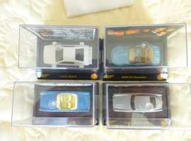 JAMES BOND CARS; FROM THE SHELL COLLECTION £5.25 EACH