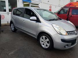 Nissan Note, 2006 (56) Silver MPV, Manual Petrol, 115,000 miles