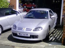 MGTF 2004 (04) Silver Sports, Manual Petrol, 49,000 miles