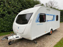 Sprite Musketeer TD 5 berth 2012 Caravan with Rear Dinette and Awning