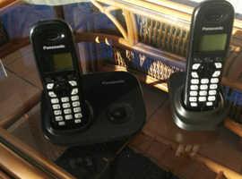 Panasonic Triple Cordless Phones