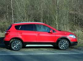 Suzuki SX4 S-CROSS, 2015 (15) Red Hatchback, Manual Diesel, 46,000 miles, (01443) 831670