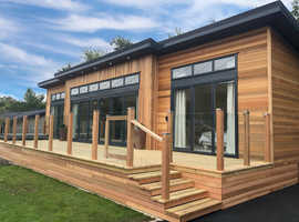 Bespoke Top of The Range Lodge For Sale in Osmington Mills near Weymouth Dorset