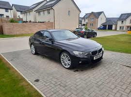 BMW 3 Series, 2013 (63) Black Saloon, Manual Diesel, 54,700 miles