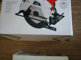 Circular saw and Angle grinder