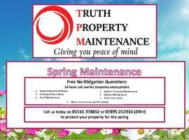 Truth Property Maintenance Ltd.    ***Property Maintenance to suit you***