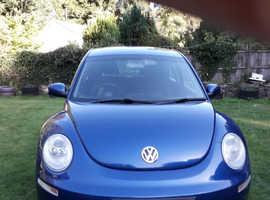Volkswagen Beetle, 2007 (57) Blue Hatchback, Manual Diesel, 67,000 miles