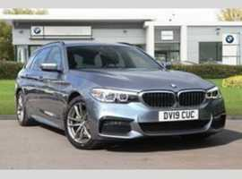 BMW 520, 2019 (19) Grey Hatchback, Automatic Diesel, 11,000 miles
