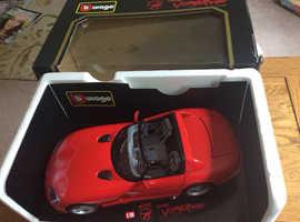 1:18 scale, 1992 Dodge Viper RT10; BOXED