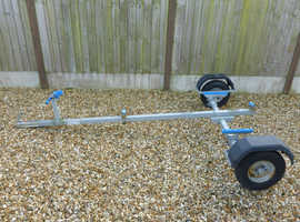 GALVANIZED SMALL BOAT TRAILER - FULLY ADJUSTABLE AND CUSTOMISABLE - ROAD READY!