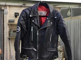 Scott Leather Motorcycle Jacket